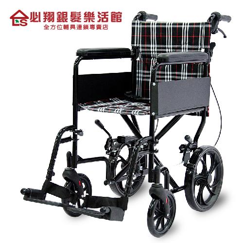 【必翔銀髮】經濟型看護輪椅 PH-183C(未滅菌)