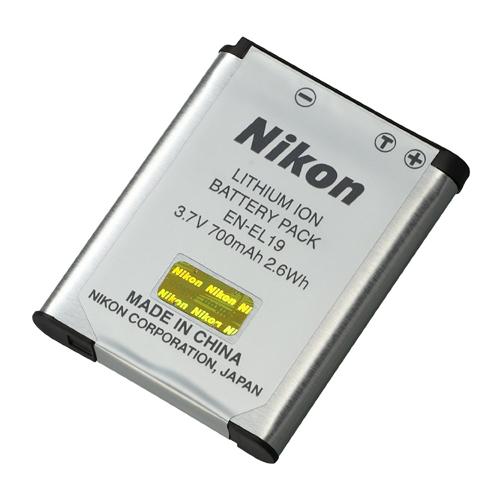 Nikon EN-EL19(S2500,S3100,4100) 原廠鋰電池(彩盒裝)