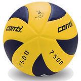 CONTI 7500系列 5號日本頂級超細纖維貼布排球 V7500-YP