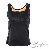 【 BeFun 內著專科 】CO 發熱衣 61501 背心款式 內有刷毛 保暖多加一層 修飾身形 彈力夠好 平面領口 胸前蕾絲布料裝飾 火熱上架