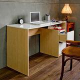 赫斯提亞日式經典鏡面二抽書桌