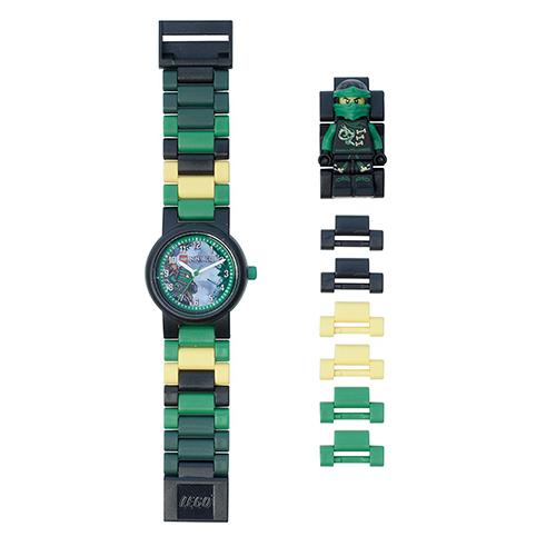 【樂高積木 LEGO】兒童手錶 - 旋風忍者勞埃德/綠忍者