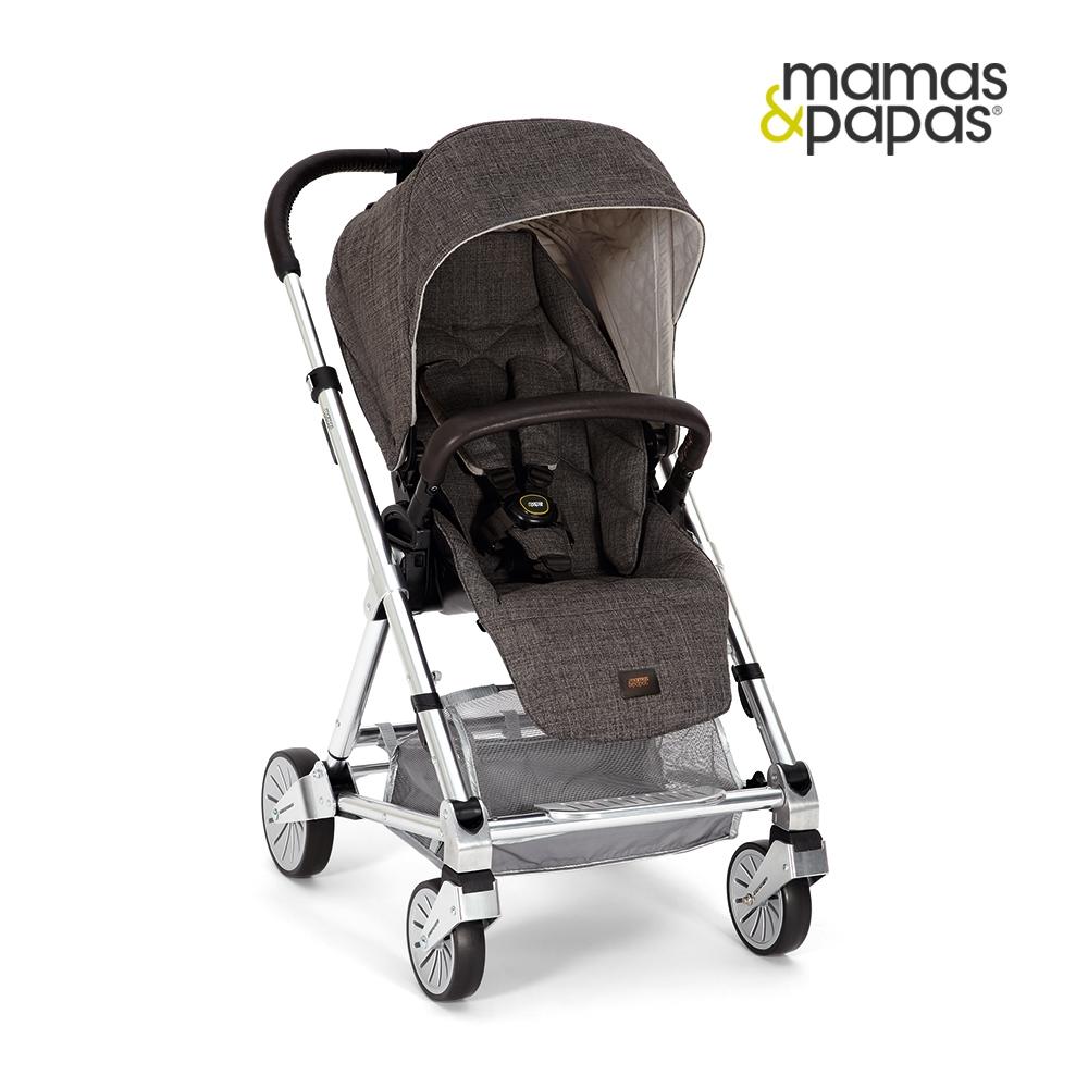 【Mamas & Papas】Urbo2 都會銀雙向手推車-溫暖灰