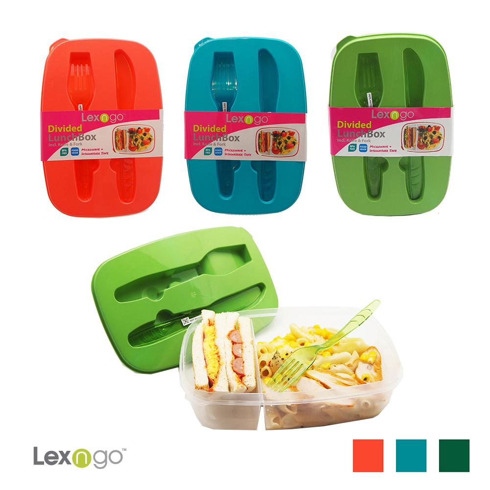 LEXNGO可微波餐盒-附刀叉