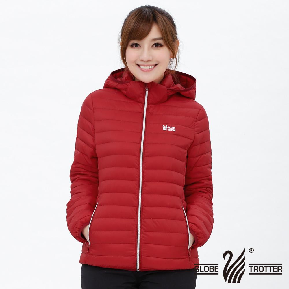 【遊遍天下】女款JIS90%羽絨防風防潑水輕暖羽絨外套G0312大紅