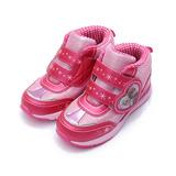(大童) 冰雪奇緣 愛心中筒運動鞋 粉 鞋全家福