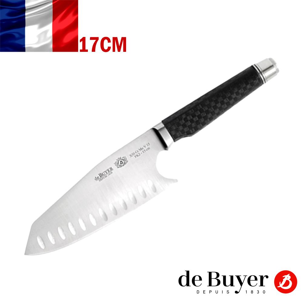 法國【de Buyer】畢耶刀具『FK2碳纖系列』中式主廚刀17cm