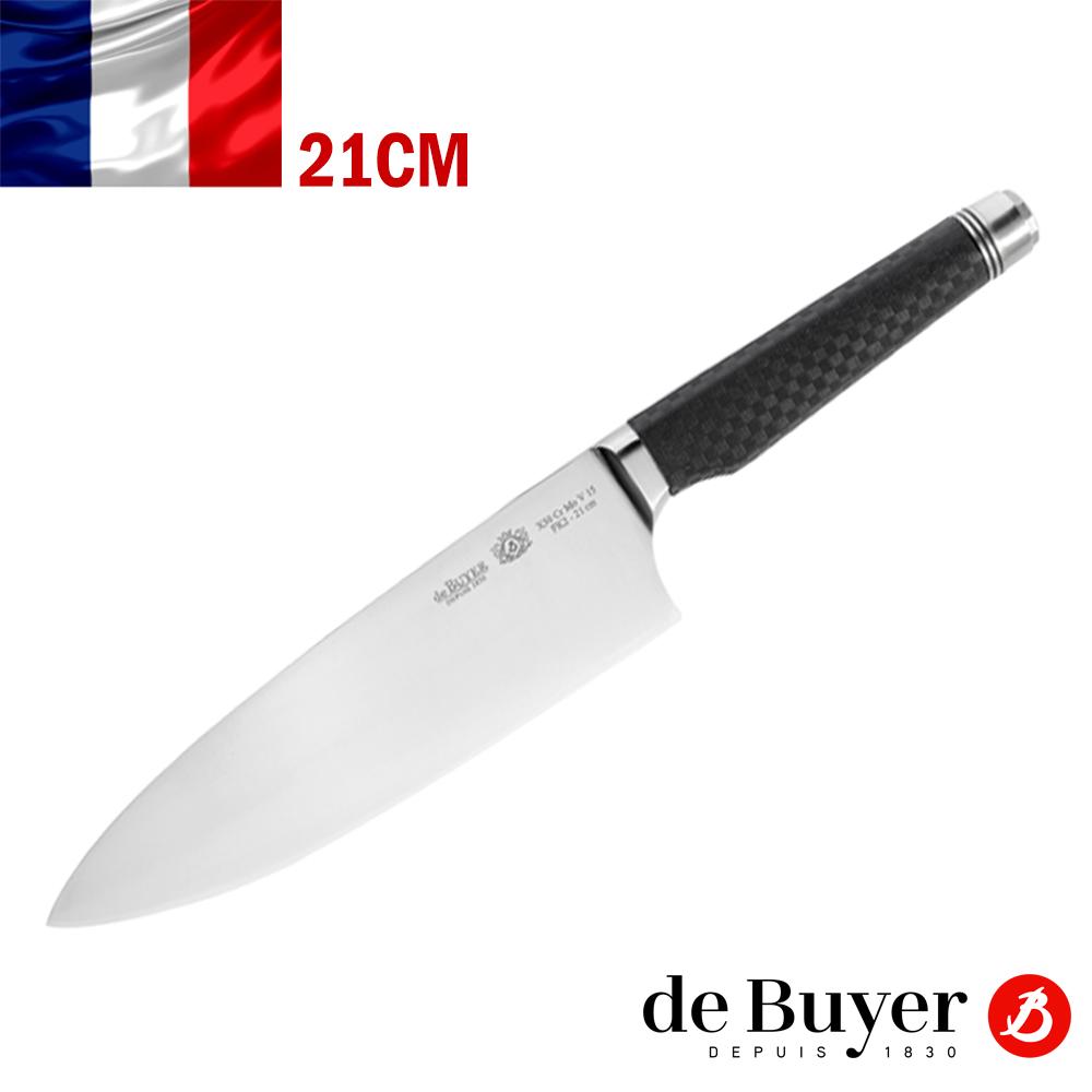法國【de Buyer】畢耶刀具『FK2碳纖系列』法式主廚刀21cm