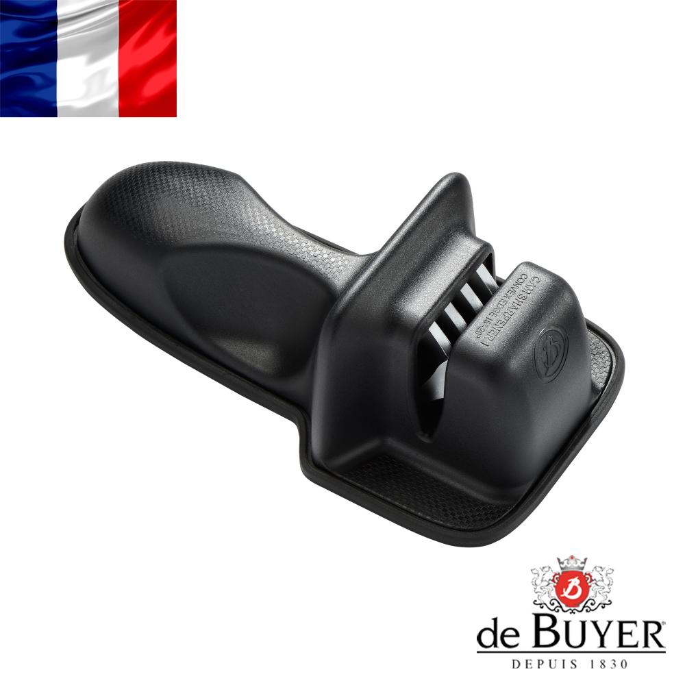 法國【de Buyer】畢耶刀具 二段式鑽石輪磨刀器