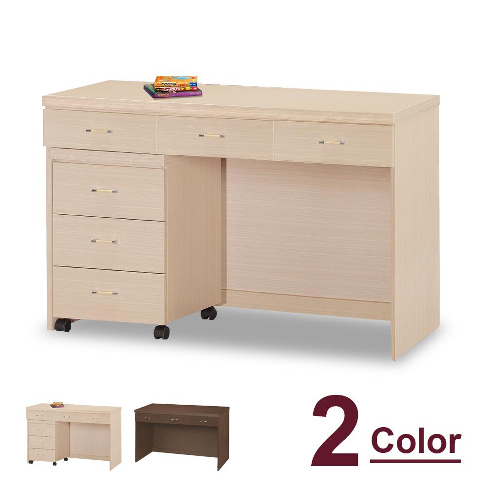 HAPPYHOME 馬奈4尺書桌-不含活動櫃5U7-460-7643兩色可選-免運費