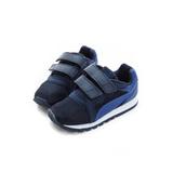 PUMA 小童 經典復古鞋 黑藍 36126201