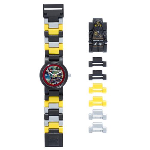 【樂高積木 LEGO】兒童手錶-旋風忍者土系忍者