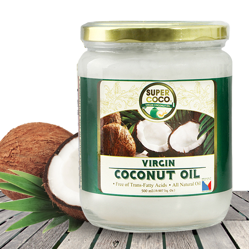 SUPER COCO 冷壓初榨椰子油(500ml)x2