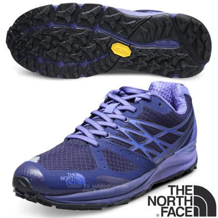 美國 The North Face 女款 透氣耐磨越野跑鞋