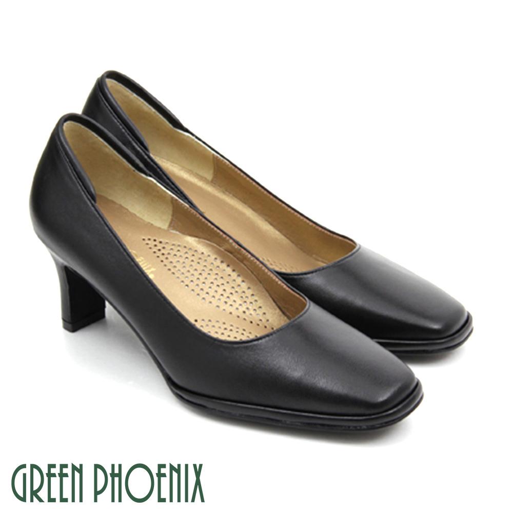【GREEN PHOENIX】OL通勤穿搭必備款~素面高跟鞋