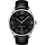 TISSOT 天梭 杜魯爾系列機械動力時尚腕錶/42mm/T0994071605800