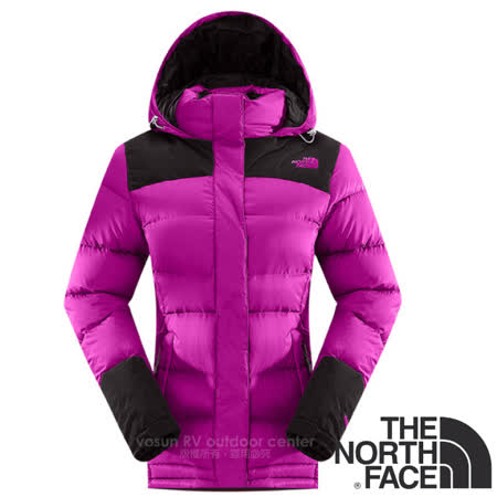 The North Face 保暖鵝絨連帽羽絨外套
