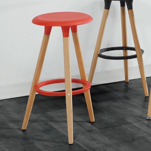 AS-德瑞克紅色高腳椅