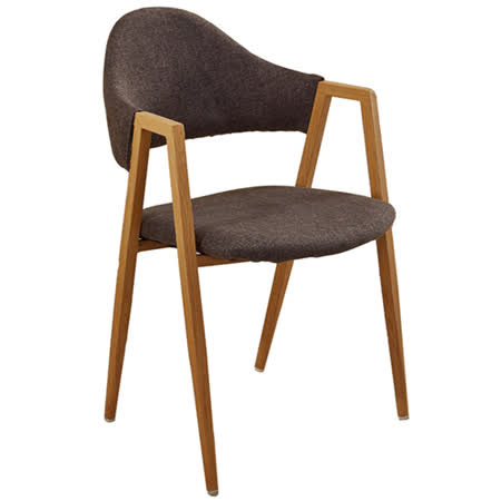 AT HOME 韋德本色布餐椅 (兩色)
