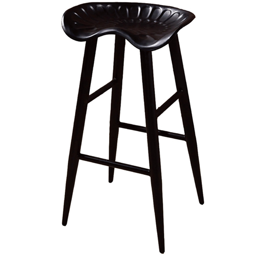 AT HOME-庫克黑腳吧台椅