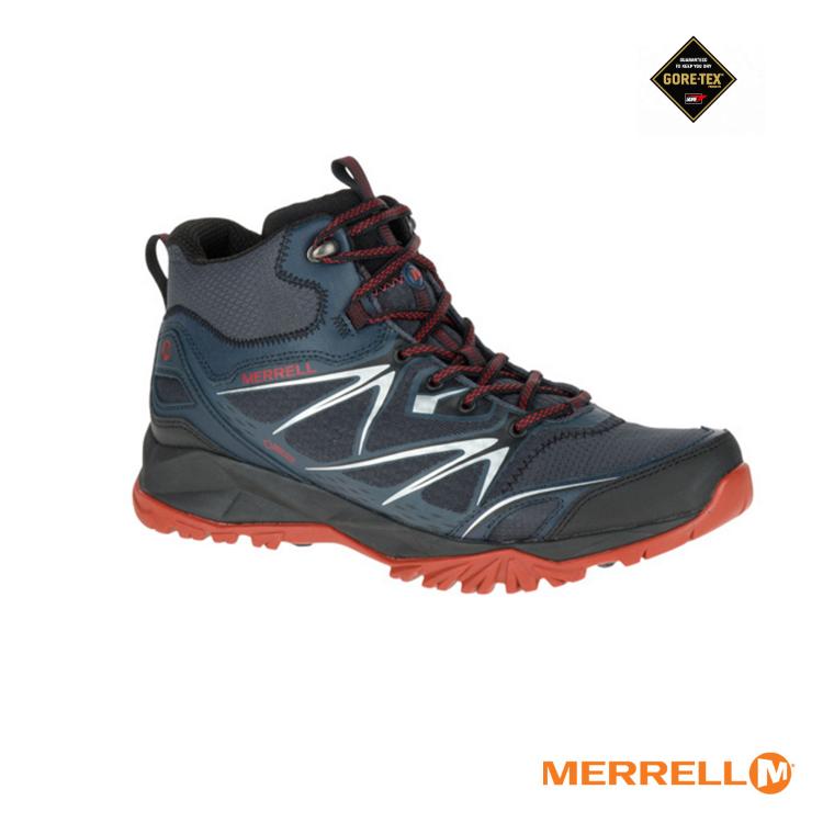 MERRELL CAPRA BOLT MID Gore-tex ML35719疾速健行鞋(男款)/城市綠洲(戶外、健行、登山、美國)