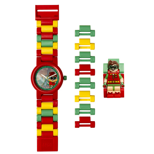 【樂高積木 LEGO】兒童手錶 - 蝙蝠俠電影羅賓