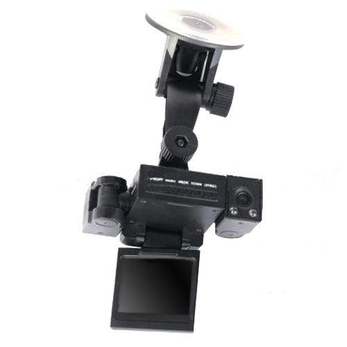 魔鷹變形金剛雙鏡頭 LED紅外線夜視270度行車紀錄器-3入組
