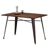 AT HOME-韋德4 尺實木餐桌