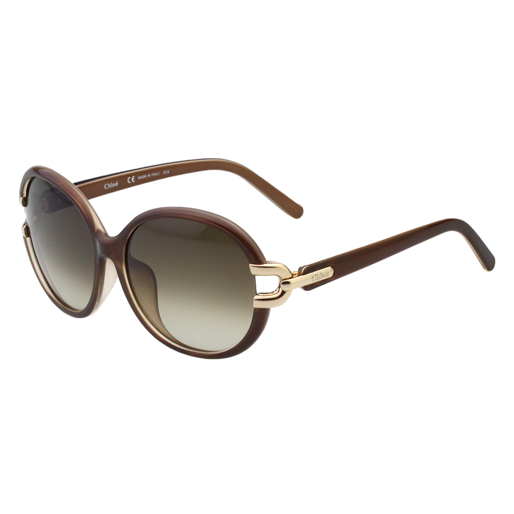 CHLOE太陽眼鏡 經典氣質(咖啡色)CE696SA-272