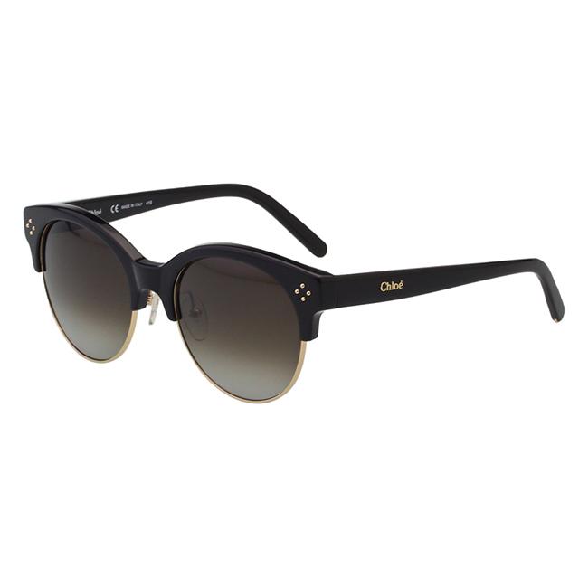 CHLOE太陽眼鏡 復古款(黑色)CE704S-001