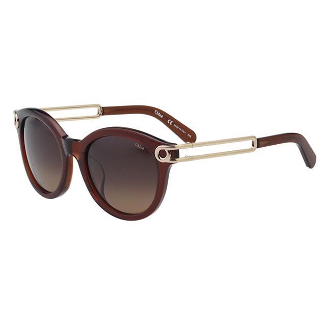 CHLOE太陽眼鏡 氣質簍空(咖啡色)CE709SA-210