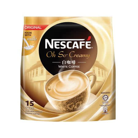 雀巢白咖啡原味36g x15