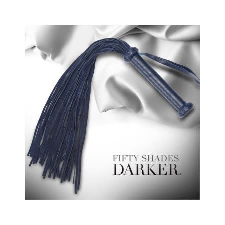Fifty Shades Darker 格雷的五十道陰影2-束縛 你的陰暗面 麂皮手工編織 大型皮鞭 FS-65099