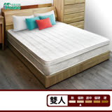IHouse-3M防潑水蜂巢三線獨立筒床墊-雙人