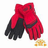 SNOWTRAVEL SKI-DRI防水透氣PRIMALOFT保暖手套(紅色)