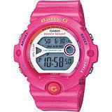 CASIO 卡西歐 Baby-G 繽紛慢跑錶-粉紅 BG-6903-4BDR
