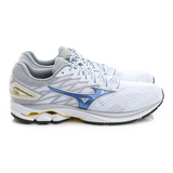 MIZUNO 美津濃 男鞋 慢跑鞋 白藍 J1GC170329