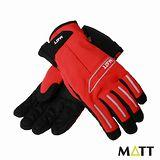 SNOWTRAVEL MATT西班牙 PRIMALOFT保暖GTX防水手套(紅色)
