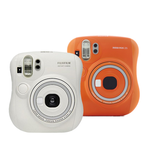 FUJIFILM Instax mini 25 拍立得相機  貨 ~加送空白底片X1 卡通