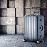 Rowana 星鑽冰糖金屬平框避震行李箱 29吋(工鐵黑)