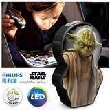 【飛利浦 PHILIPS LIGHTING】星際大戰LED手電筒-尤達大師(71767)