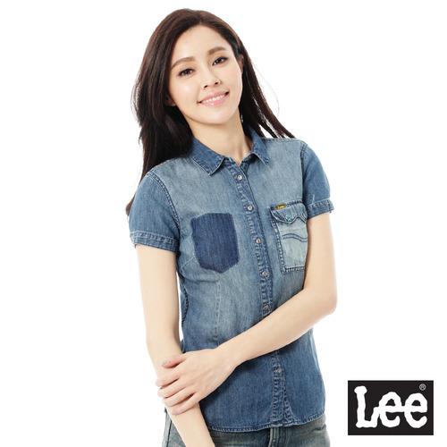 Lee 101+  牛仔短袖襯衫