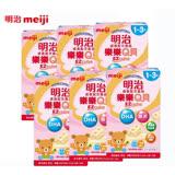 MEIJI 金選明治成長方塊奶粉-樂樂Q貝(1-3歲) x6盒