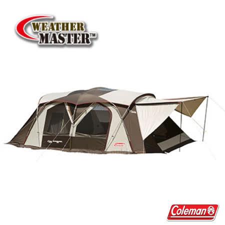 美國 Coleman 氣候達人 炊事天幕露營客廳帳篷