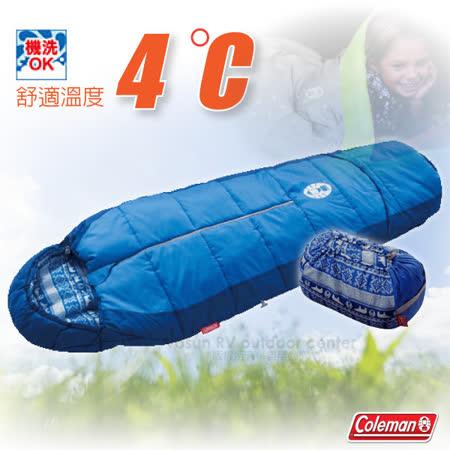 Coleman 2段可調式化纖睡袋