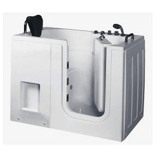 【海夫健康生活館】開門式浴缸 內開式 111-T 恆溫水柱按摩款 (130*76*98cm)