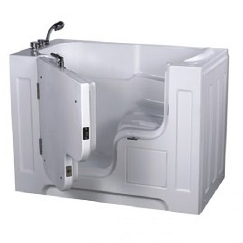 【海夫健康生活館】開門式浴缸 大開口 115A-R 氣泡按摩款 (132*740*102cm)