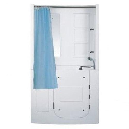 【海夫健康生活館】開門式浴缸 109B-A 基本款 (120*68*205cm)