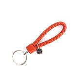 【BOTTEGA VENETA】小羊皮 key圈 (夕陽橘色)