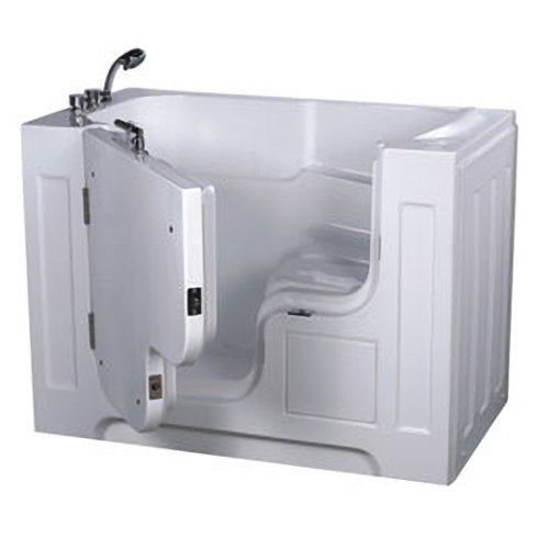 【海夫健康生活館】開門式浴缸 大開口 115-A 基本款 (132*740*112cm)